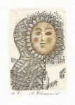 Khunová Anna, lept, Slunečnice